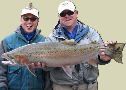 Big steelhead picture - Muskegon River